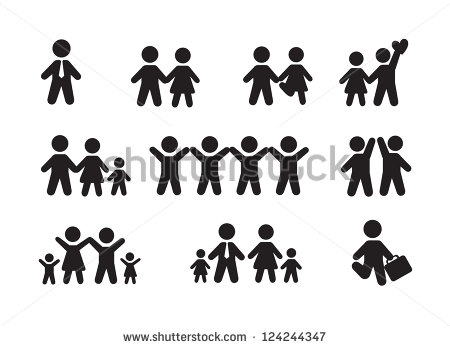 13 Person Silhouette Icon Images