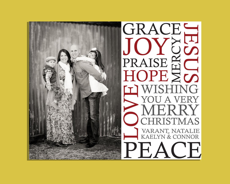 16 Christmas Card Photoshop Templates Images - Photoshop Christmas ...