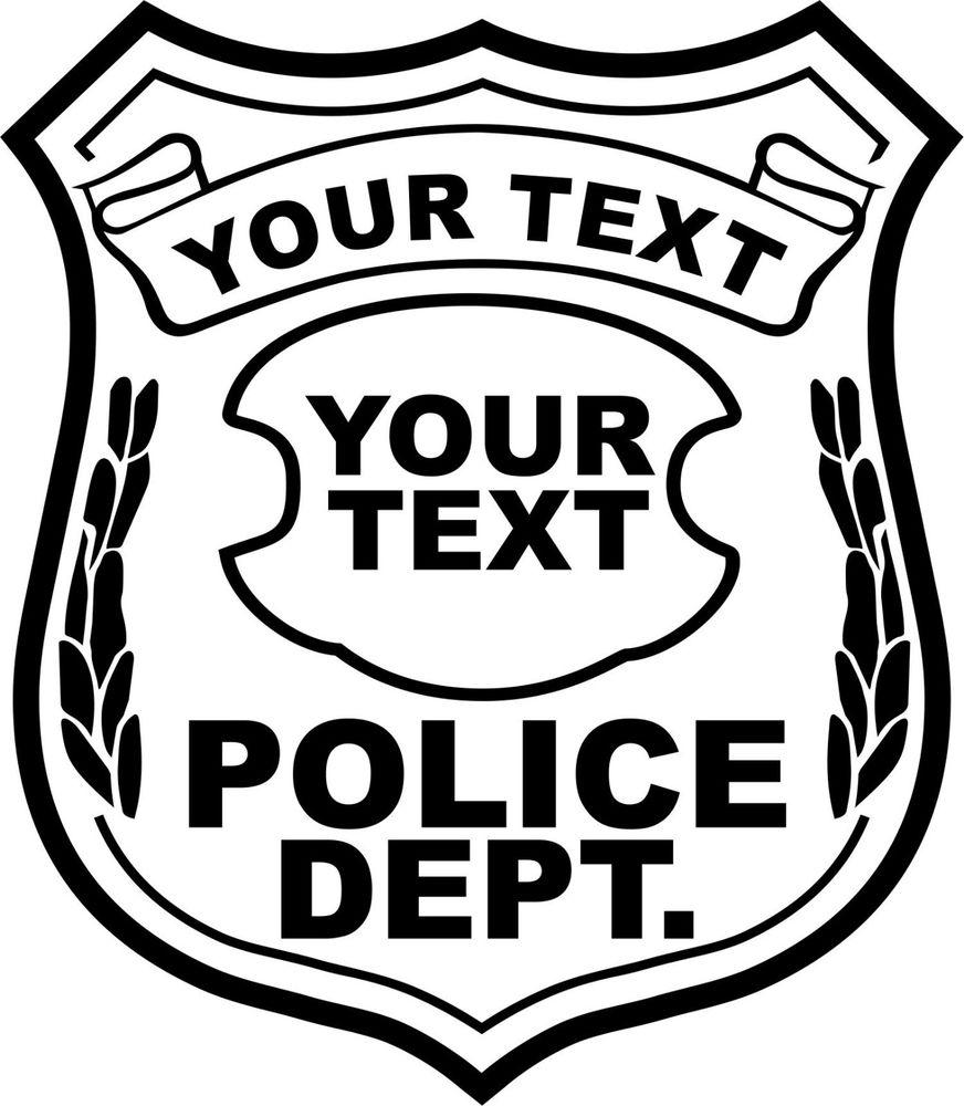 Police Badge Clip Art