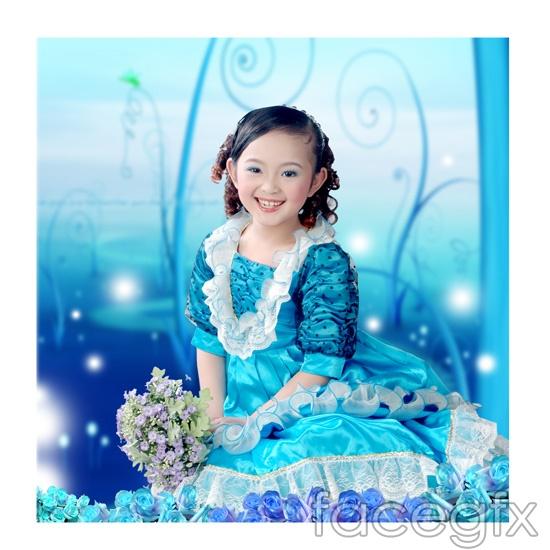 Princess Barbie Dolls of Children