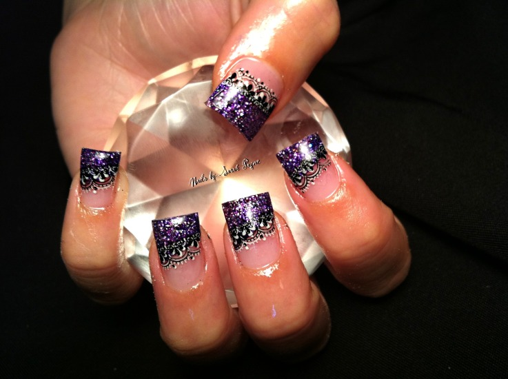 14 Diamonds Nail Art Design Ideas Images