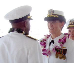 Rear Admiral Frank Ponds