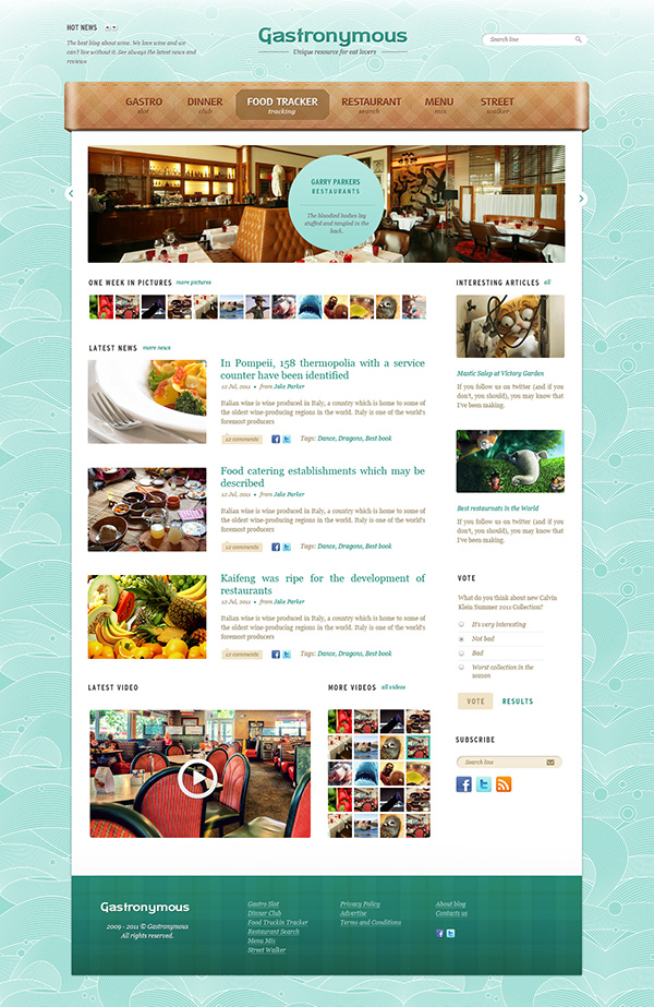 Beste Restaurant Website Vorlage Kostenlos Galerie - Beispiel ...
