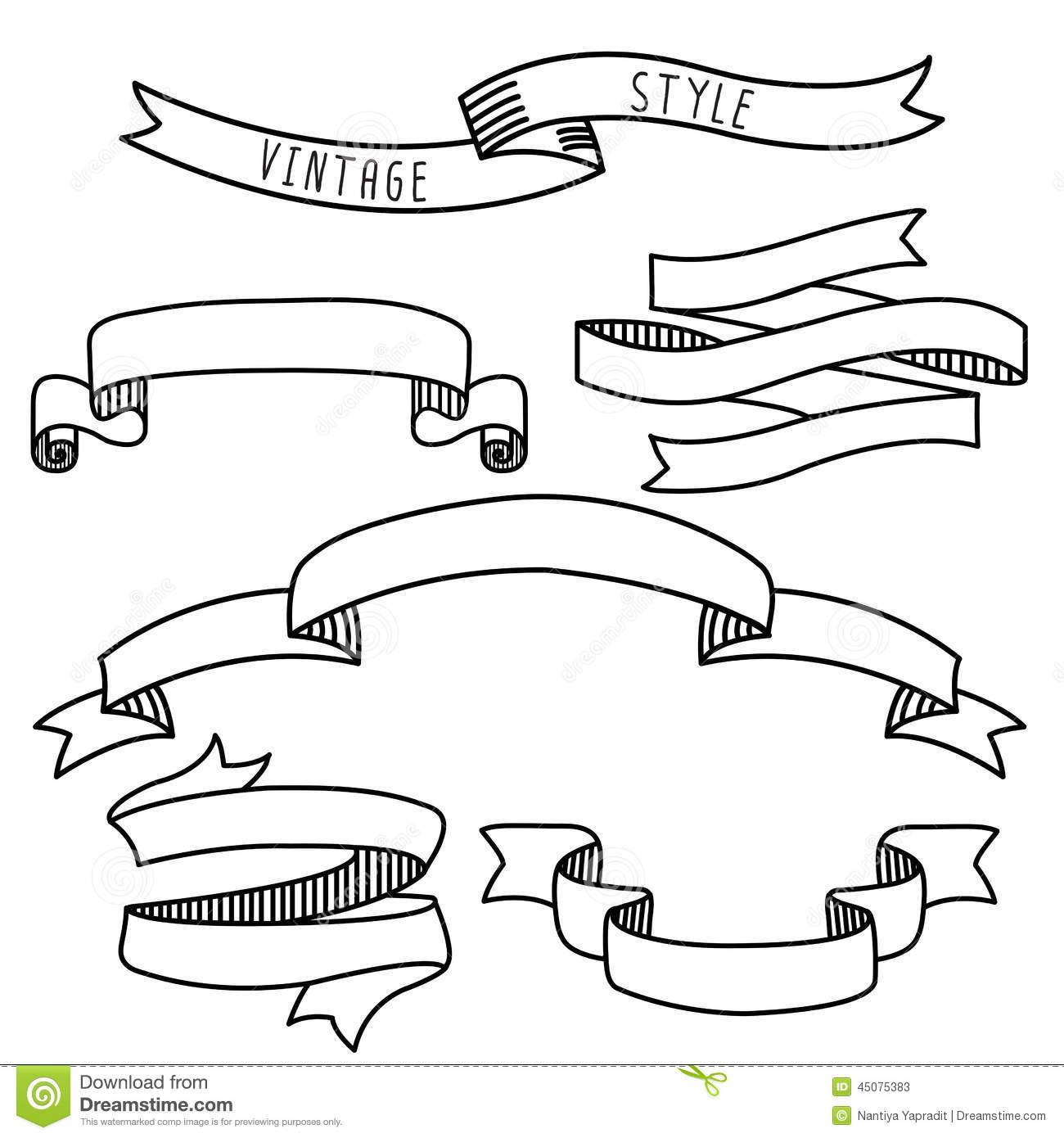 Ribbon Banner Clip Art