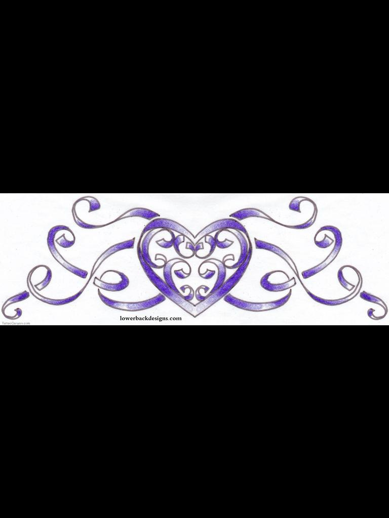 Ribbon Banner Tattoo Design
