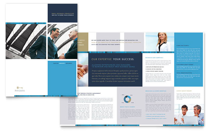 Small Business Brochure Examples