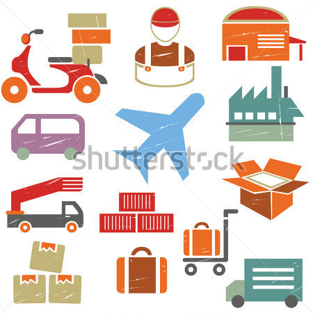Supply Chain Stock Image Photo Icon