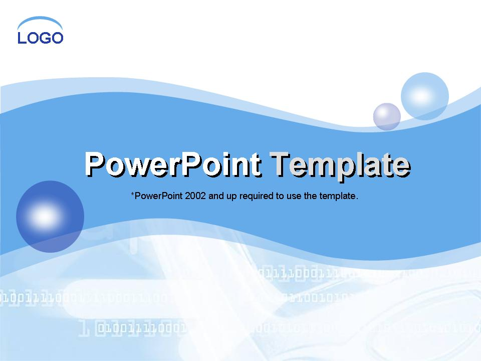 Themes to PowerPoint Template Free Download