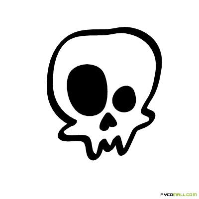 15 Skull Cartoon Vector Images