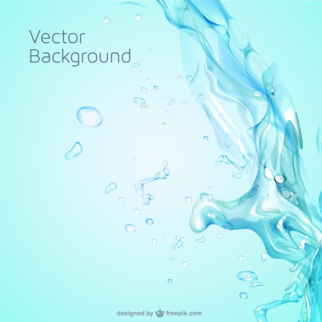Water Splash Vector Free Download