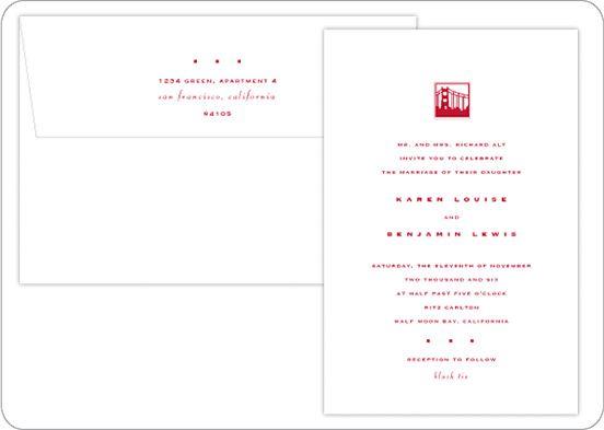 Wedding Invitation Icons