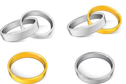 13 Free Vector Wedding Ring Clip Art Images