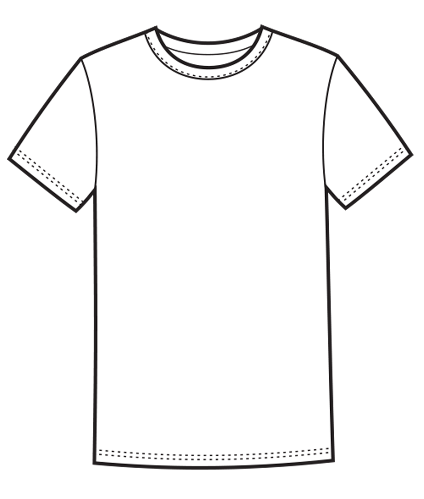16 White T- Shirt Template PSD Images - White T-Shirt ...