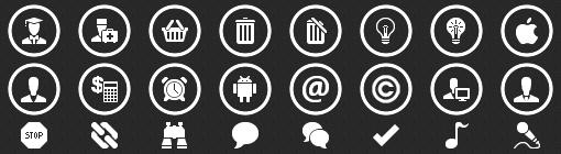 Windows Phone 8 App Bar Icons