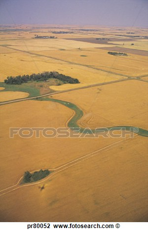 Aerial View Landscape Clip Art