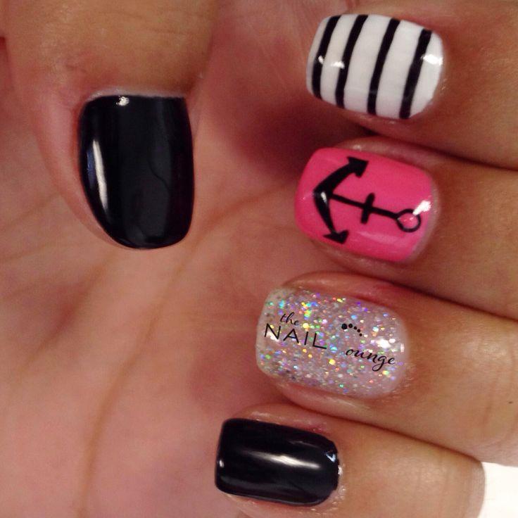 50 rocking anchor nail designs nail design ideaz, what does your . -  Dorable Anchor - Cute Anchor Nail Designs Graham Reid