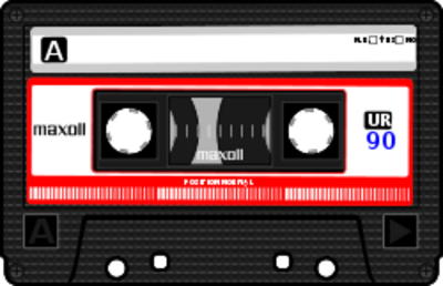Audio Cassette Tape Clip Art