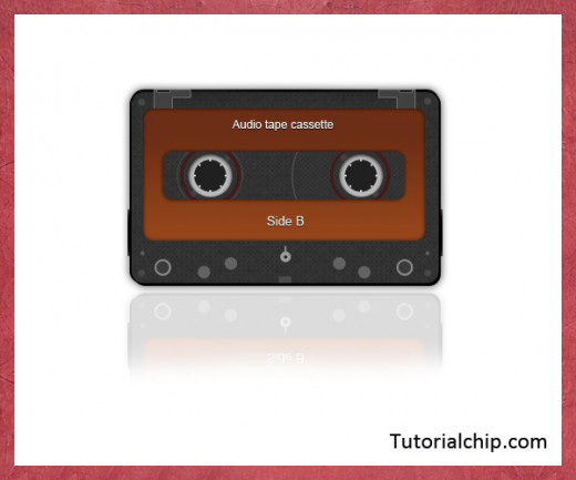 Audio Cassette Tape Template
