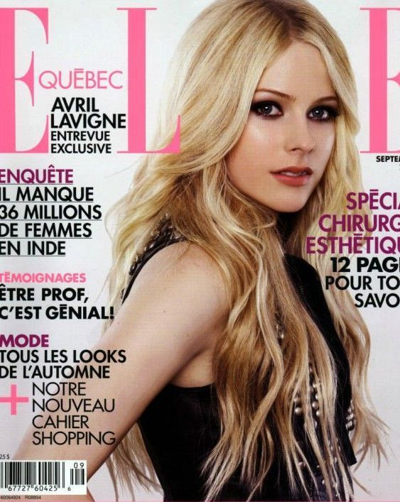 Avril Lavigne Magazine