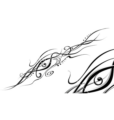 Black and White Vector Background Designs