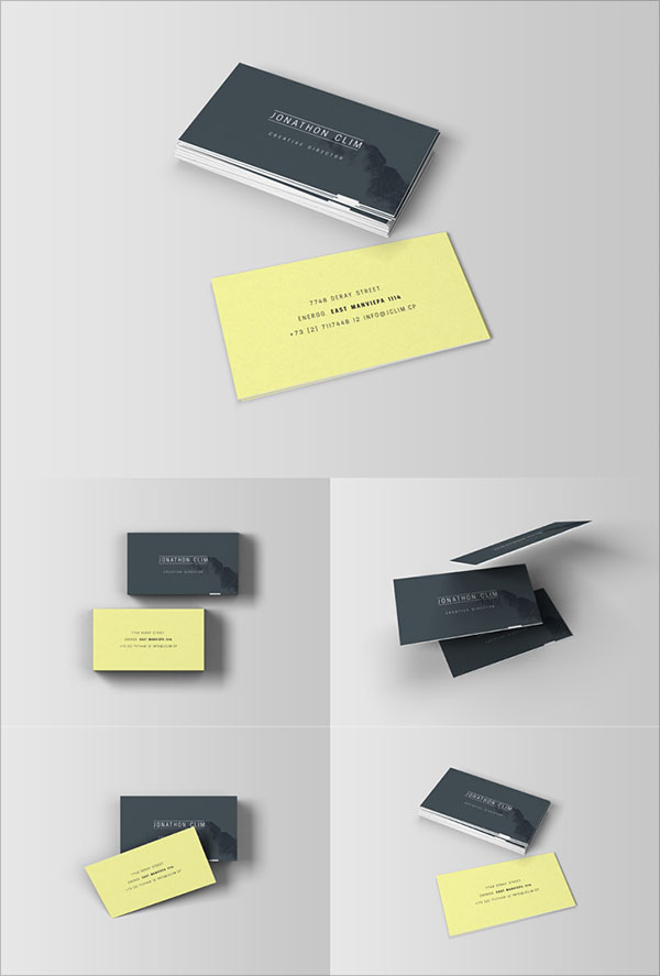 Colorful Business Cards Psd Files Free Download Image Collection ...