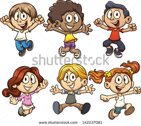 Cartoon People Clip Art Kids
