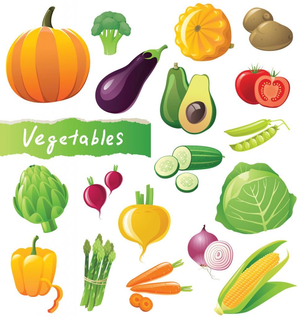 Pleasant 16 Vegetable Vector Art Images Fruit Vegetable Vector Art Interior Design Ideas Pimpapslepicentreinfo