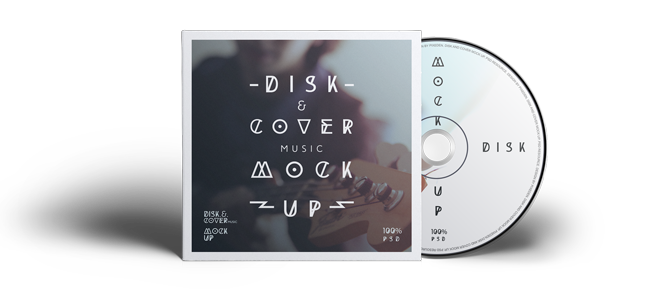 CD-Cover Mock Up
