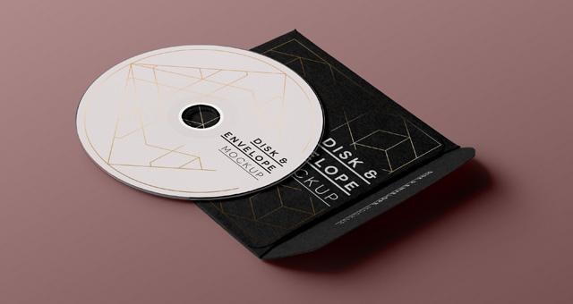 CD-Cover PSD Mockup