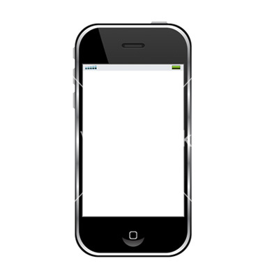14 Cell Phone Icon Vector Images