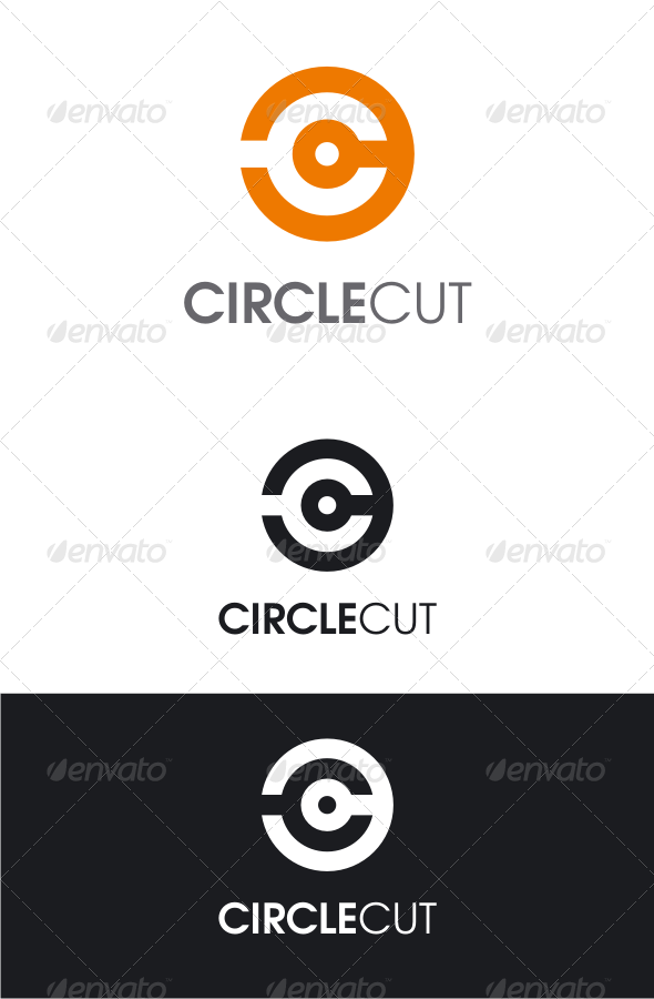 Circle Logo with Letters
