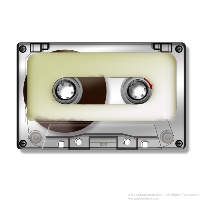 Clear Cassette Tapes