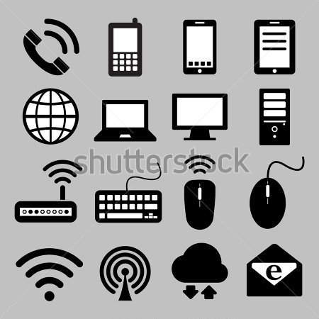 Computer and Mobile Device Icons