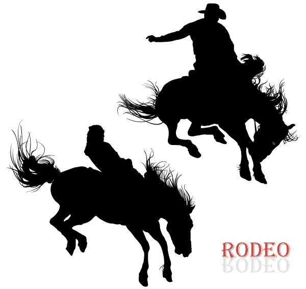 15 Cowboy Vector Designs Images