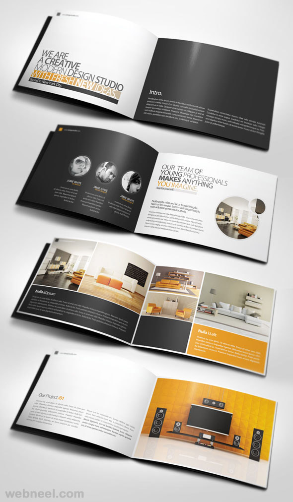 7 Corporate Brochure Design Inspiration Images