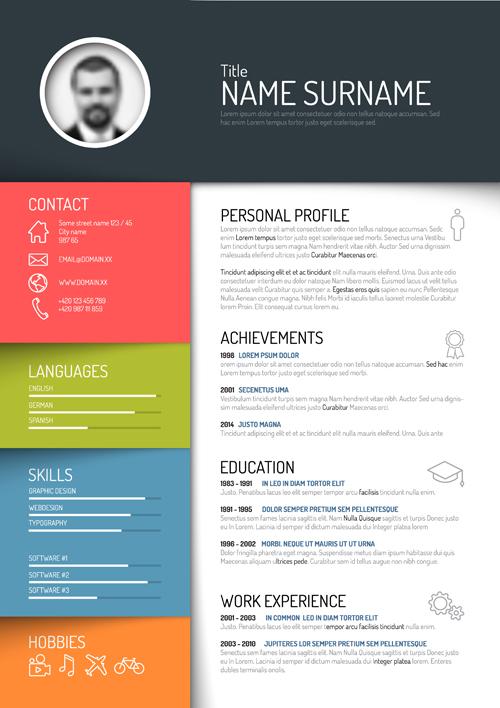 15 Creative Resume Design Templates Images Free Creative Resume