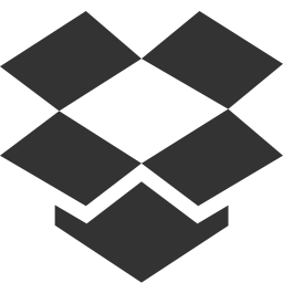 14 Black Dropbox Icon Images