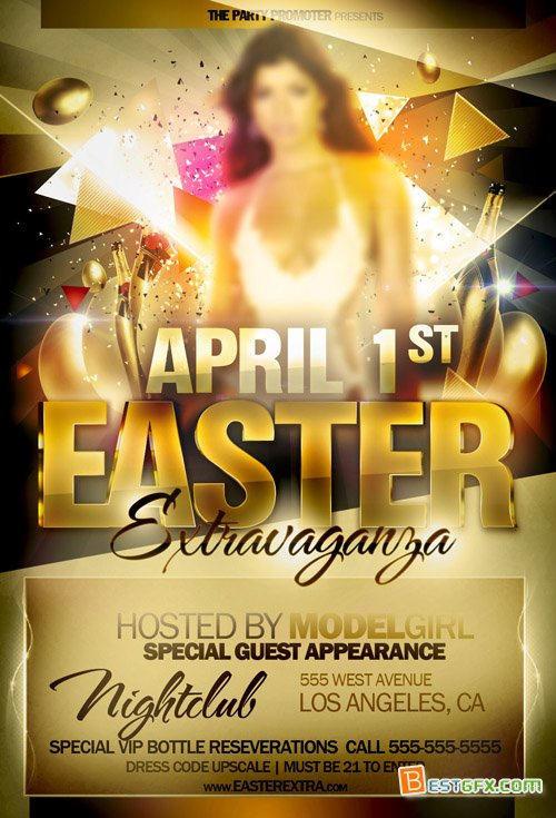 Easter Flyers Free Templates