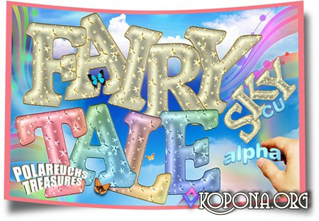Fairy Tale Alphabet Letters
