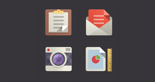 9 Flat Google Icons Images