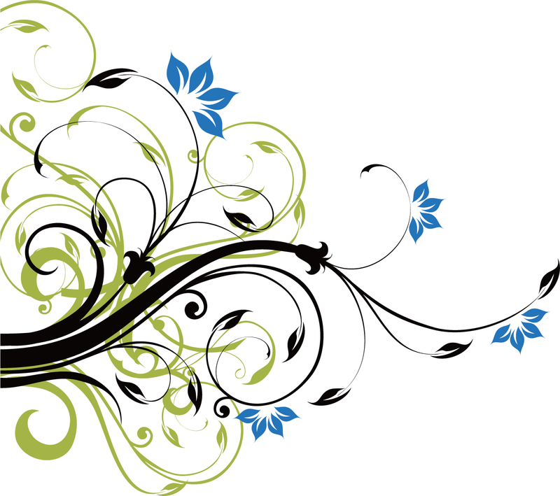 15 Swirl Vector Design PNG Images