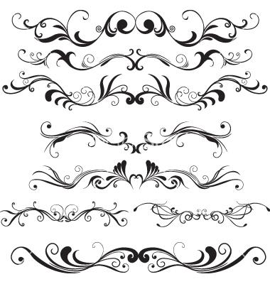 Floral Vector Design Elements
