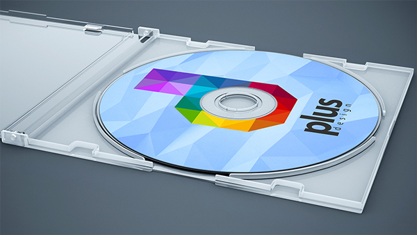 Free CD Cover Mock Up