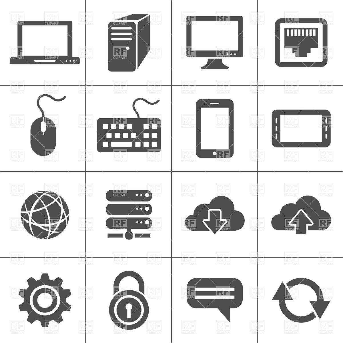 Free Computer Vector Icon