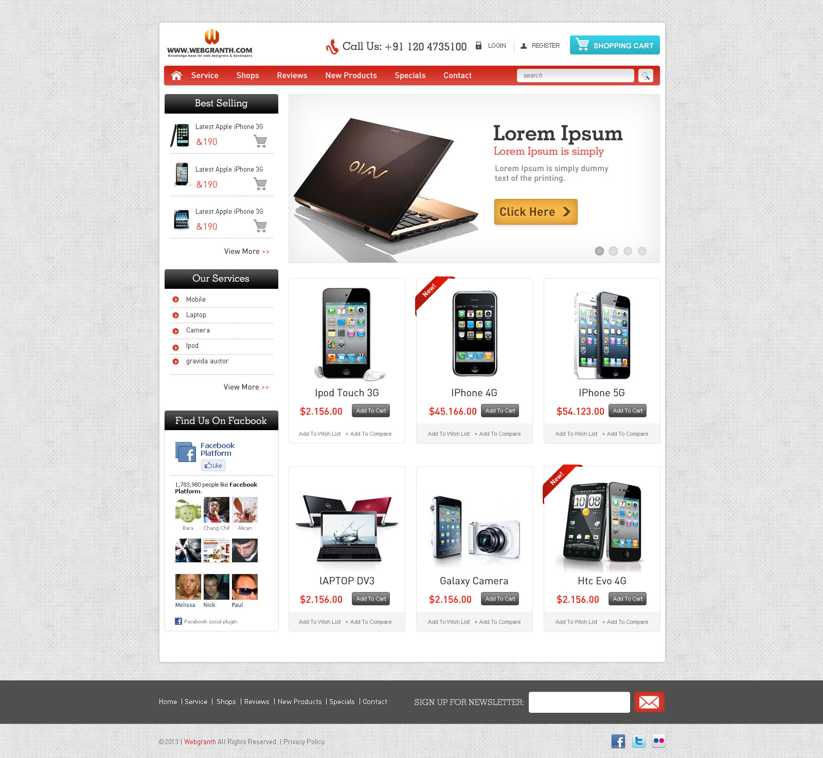 Top Result 50 Best Of Homepage Template Free Download Gallery 2017 ...