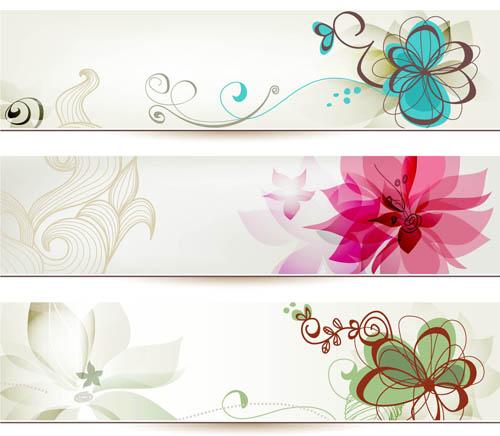 Free Flower Banner