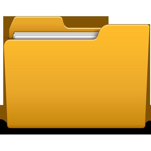 12 3D Folder Icon PNG Sets Images