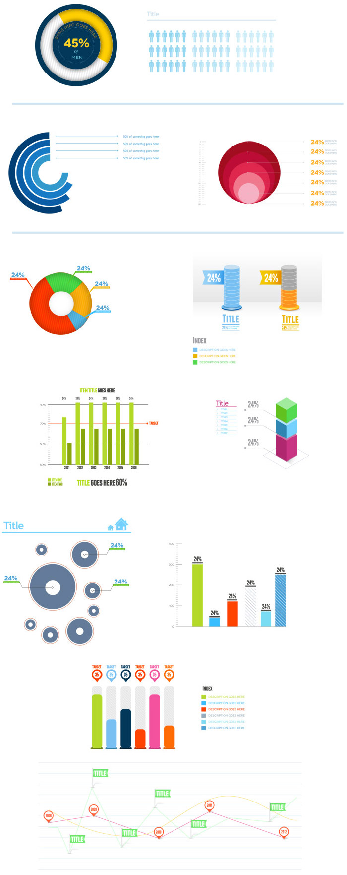 16 infographics psd black images free infographic for Free infographic templates