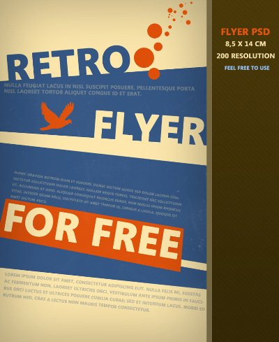 18 Free Flyer Design Templates PSD Images - Free Business Flyer ...