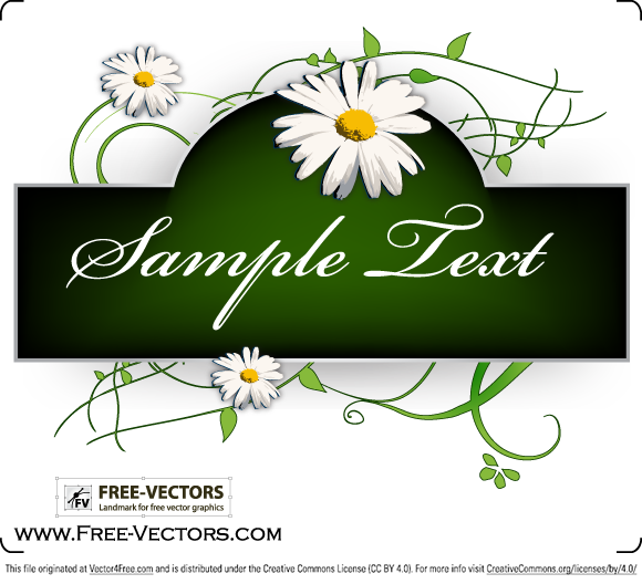 Free Swirl Banner Vector Graphics